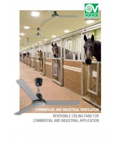 Ventilatoare de tavan comerciale si industriale reversibile Vortice