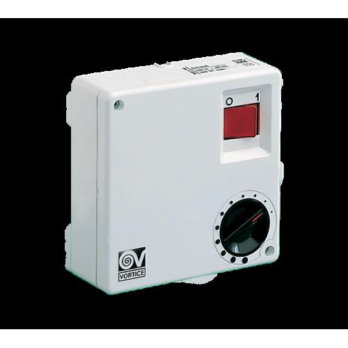 Variator de viteza reversibil VORTICE SCRR/M pentru maxim 6 ventilatoare simultan cod VOR-12965