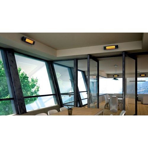 Incalzitor electric cu infrarosu VORTICE Thermologika Design gri antracit cod VOR-70005