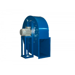 Ventilator anticoroziv centrifugal pentru aer incarcat cu praf Dynair PS-L