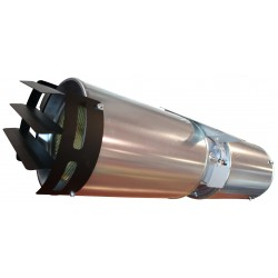 Ventilator axial cu impuls pentru evacuare fum Dynair JET FAN CC JD