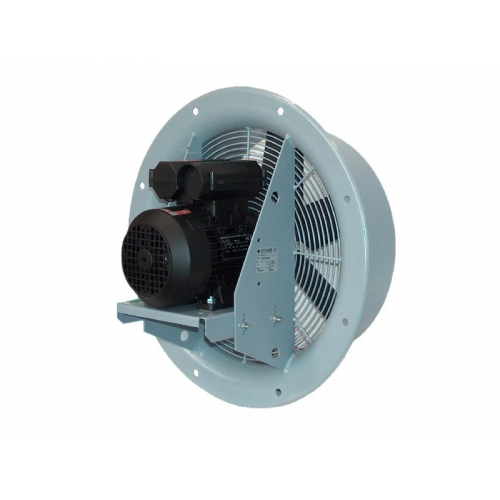 Ventilator axial de perete cu inel Dynair AC-A si AC-B