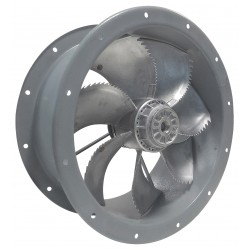 Ventilator axial de tubulatura cu eficienta ridicata Dynair CCZ