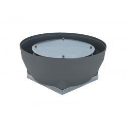 Ventilator centrifugal de acoperis cu flux vertical cu motor cu rotor extern Dynair REV