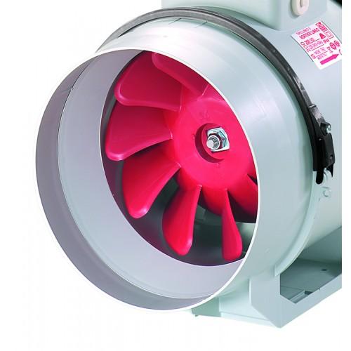 Ventilator axial in line cu timer Lineo 100 T V0 VORTICE cod VOR-17021