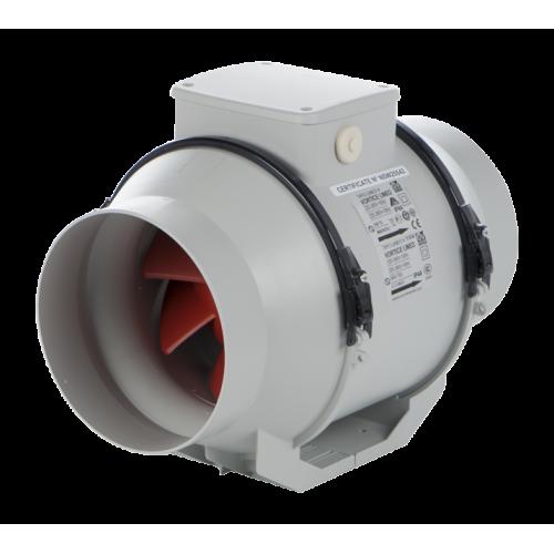 Ventilator axial in linie cu timer VORTICE Lineo 160 T V0 cod VOR-17024