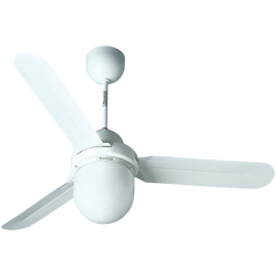 Ventilator de tavan cu lumina 120 cm Nordik Design 1SL Vortice cod VOR-61101