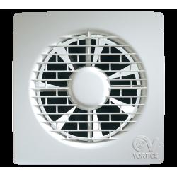 Ventilator baie Vortice Punto Filo MF 90 mm, clapeta antiretur, debit 65 mc/h cod VOR-11122