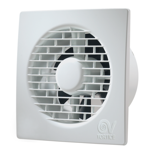 Ventilator baie Vortice Punto Filo MF 90 mm, clapeta antiretur, debit 65 mc/h cod VOR-11122