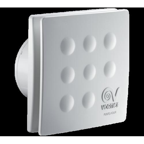 Ventilator baie Vortice Punto Four MFO 90 mm, cu timer, clapeta antiretur, debit 65 mc/h cod VOR-11144