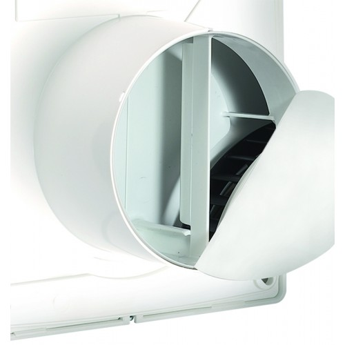 Ventilator baie Vortice Punto Four MFO 90 mm, clapeta antiretur, debit 65 mc/h cod VOR-11143