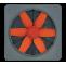 Ventilator axial plat VORTICE cu presiune medie Vorticel MP 302 T cod VOR-42302