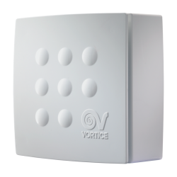 Ventilator centrifugal Vort Quadro Micro 100 cu timer VORTICE cod VOR-11940