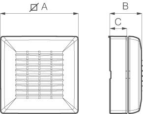 Kit pentru montaj ventilator pe fereastra