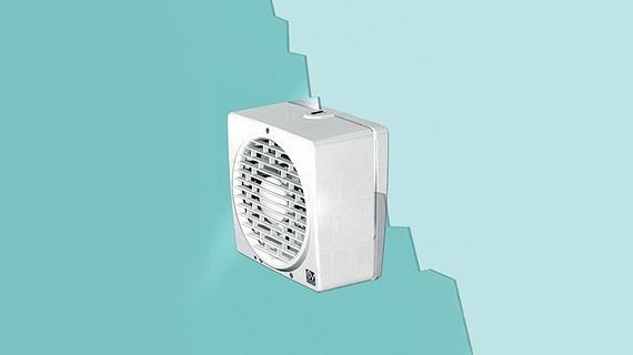 Ventilator cu montaj pe geam