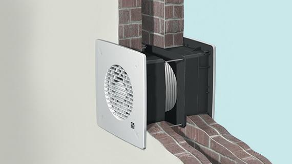 Modalitate de montaj ventilator dublu sens